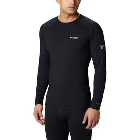 Columbia Omni-Heat 3D T-shirt Manches longues Col ras-du-cou Tricot Homme, black